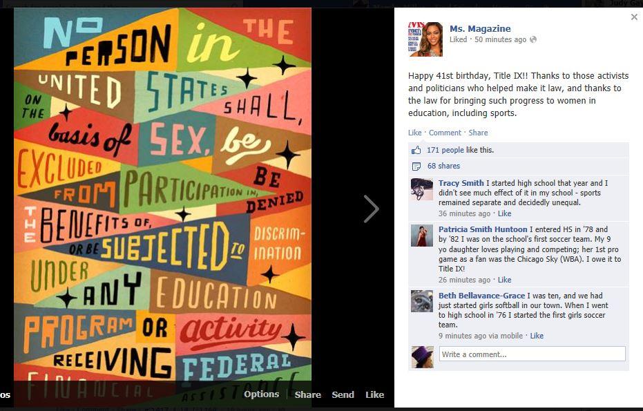 MS FB posting 2013