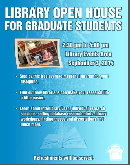 Graduate Student Open House