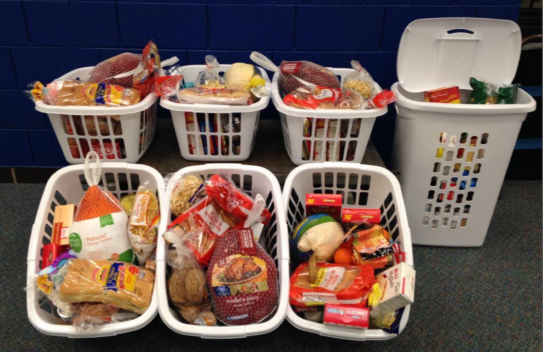 7 Thanksgiving Baskets