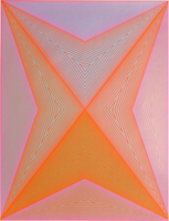 Richard Anuszkiewicz (American, born 1930), Untitled, from the Inward Eye series, 1970, Serigraph, Purchase 1971