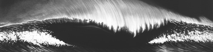 Robert Longo (American, born 1953), Wave, 2003, Lithograph, Purchase 2008