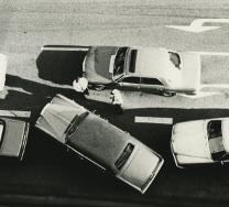 Andy Warhol (American, 1928-1987), Cars on the Street, n.d., Gelatin silver print, Collection of Indiana State University; Gift of The Andy Warhol Foundation for the Visual Arts, Andy Warhol Photographic Legacy Program, 2008