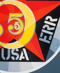Robert Indiana (American, born 1928), The Figure Five, from the portfolio Decade, 1963, Serigraph, Purchase 1972