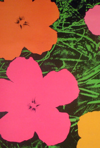 Andy Warhol (American, 1928-1987), Flowers, 1965. Serigraph, Purchase 1972