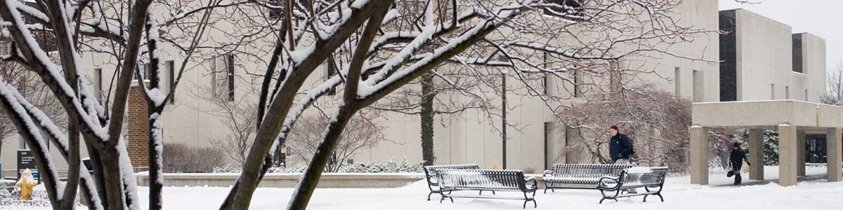 ISU Campus Winter